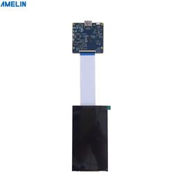Argentina 5,5 pulgadas 1440 * 2560 2K tft pantalla lcd HDMI a la tarjeta de controlador de interfaz MIPI del panel amelin de shenzhen Suministro