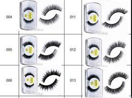 Wholesale Feather Eyelash Extensions - Hot Sale Brand False Eyelashes Handmade Natural Long Curl Thick Fake Eye Lash Extensions Black Color Eyelash Eye Makeup Reusable Lashes