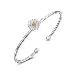 5 unids / lote Caliente plateado plata margarita pulsera crisantemo encanto joyería de la boda pulseras lindas dan el más hermoso que desde fabricantes