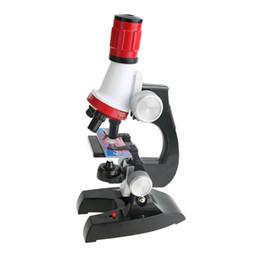 Kinder Stereo Wissenschaft Mikroskop 1200x Zoom Biologisches Mikroskop Kit Raffinierte Wissenschaftliche Instrumente Pädagogisches Spielzeug Für Kind von Fabrikanten