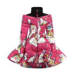 2019 длинные куртки девушки новая модель Детская зимняя теплая ватная куртка для малышей Пальто и куртки для девочек Детские девочки Парка Одежда для девочек Возраст 3-10 лет
