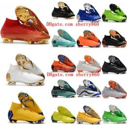 Mercurial Superfly VI Elite 360 CR7 FG AC football chaussures cr7 chaussures de football Ronaldo neymar scarpe calcio pas cher ? partir de fabricateur