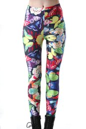 b53fe5375c Hot Selling Pretty Butterfly Printed Women Fitness Leggings Pants Sexy Fitness  Leggings Yoga Leggings Sports Workout Pants For Female butterfly sports  pants ...