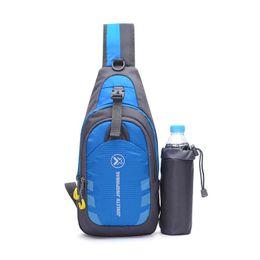 Wholesale Jogging Chest Pack - Oxford Chest Bag Outdoor Sport Travel Hiking Shoulder Sling Backpack Pouch Functional Fanny Bags Waist Packs heuptas wandelen