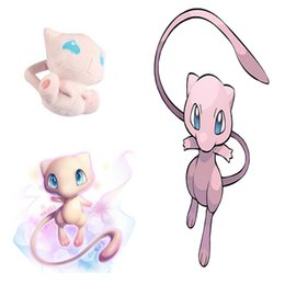 Wholesale 12cm Baby Dolls - Hot ! Cute 12cm MEW Pikachu Doll Mewtwo Plush Doll Stuffed Animals Toy For Baby Best Gifts