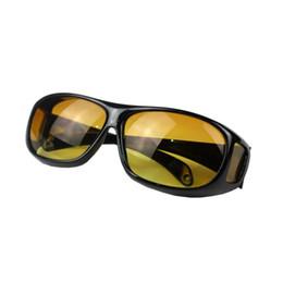 Альпинистские очки онлайн-Ночного видения вождения солнцезащитные очки желтый объектив унисекс многофункциональный ветер доказательство альпинизм очки с антибликовым покрытием открытый очки 3gt WW