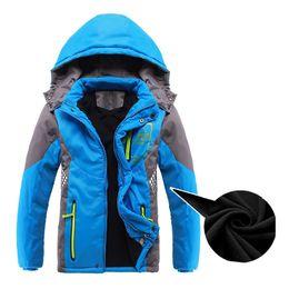 f01a4d982ca9 MACH Children Outerwear Warm Coat Sporty Kids Clothes Double-deck  Waterproof Windproof Thicken Boys Girls Jackets Autumn an