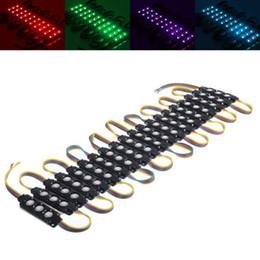 schwarzes licht led-modul Rabatt RGB-Schwarzes PCB 12V imprägniern SMD5050 Einspritzungs-LED-Modul-helles weißes und warmes weißes Werbungs-Wort-Licht-Windows-Licht