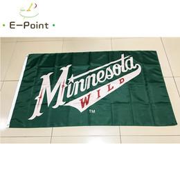 Minnesota Wild National Hockey League (NHL) 3 5ft (90cm 150cm) Polyester  flag Banner American decoration flying home   garden flag. Supplier   huyongkui dea50e81c
