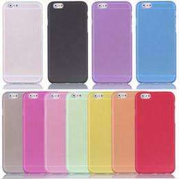 Canada 0.3mm Ultra Mince Mate Givré Transparent Clair Flexible Souple Coque PP Pour iPhone X 8 7 6 6 s Plus 5S SE DHL Offre