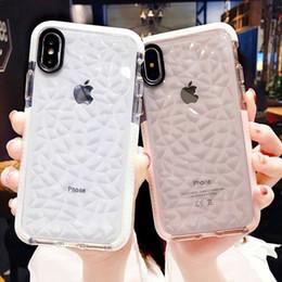 Желе мягкие чехлы онлайн-Роскошные желейные чехлы для телефона для iPhone X 10 Soft TPU Прозрачный чехол Shookproof Прозрачная крышка для iPhone 7 8 6 6s Plus