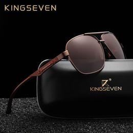 077d65aeca642 KINGSEVEN 2018 Homens De Marca De Alumínio Óculos De Sol HD Polarizada  Espelho UV400 Masculino Óculos de Sol Das Mulheres Para Homens Oculos de sol  barato ...