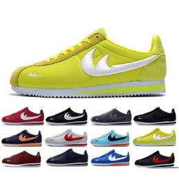 Wholesale Womens Leather Shoes Sale - 2018 best sale new cortez shoes mens womens running shoes sneakers,cheap athletic leather original cortez ultra moire walking shoes 36-44