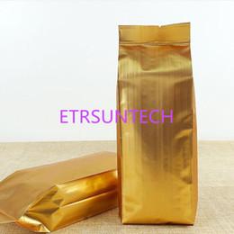 2019 sellos de lámina de oro Bolsa de papel de aluminio de oro Vacumm Regalo de oro Bolsas de alimentos de caramelo Embalaje a prueba de humedad Bolsas de sellado en caliente QW7955 sellos de lámina de oro baratos