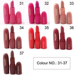 Sıcak 7 Renkler MISS ROSE Miss Rose Mat Rujlar Makyaj Su Geçirmez Uzun Ömürlü Makyaj Marka Profesyonel Dudak Kiti Bullet cheap long professional lipstick nereden uzun profesyonel ruj tedarikçiler