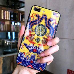 Wholesale China Tempered Glass - luxury Phone Case For iPhone X, iPhone 8, 7, 6 Plus design tempered glass For iphone 6+ 8plus china style