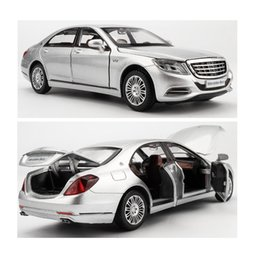 Wholesale cast toy car - Licensed Alloy Model Luxury Cars 1 32 Die-Cast Vehicle Model Car Collection&Toy Car W Light& Music