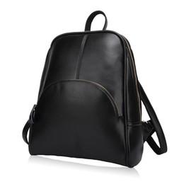 Wholesale Name Brand Backpack - Women Backpack Leather Backpacks Softback Bags Brand Name Bag Preppy Style Bag Casual Backpacks Teenagers Girls Mochila Feminina