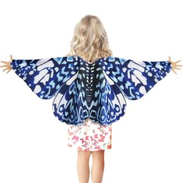 Novelty & Special Use 3-9 Y.o Special Pink Cosplay Butterfly Wings For Girl Costume Party Summer Sunscreen Masque Children Toy Animal Costume Costumes & Accessories