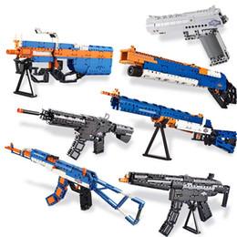 Ausini Building Blocks Modèle d'armes à feu, Briques de construction Technolike Technic Guns Jouets pour enfants, lien Airsoft éducatifs Air Guns 2 (NO BOX) ? partir de fabricateur