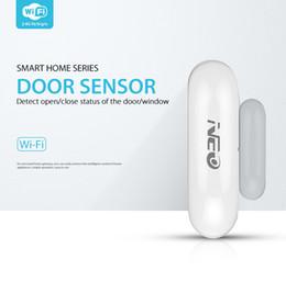 capteurs de fenêtre Promotion Capteur de porte intelligent WiFi Détecteur de contact magnétique App Alertes de notification pour capteur domotique de porte intelligente