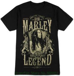 Marley camisetas on-line-100% algodão T Roupas Camisas Marca Tops Legend T-shirt dos homens Marley Bob Tees