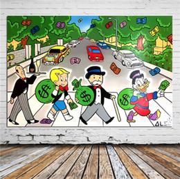 пейзаж Скидка Алек Монополия, Эбби Роуд,Home Decor HD печать современное искусство холст (без рамы / в рамке)