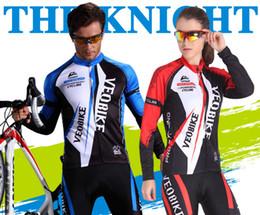 Canada Combinaisons de course en gros printemps et automne hommes cyclisme à manches longues en jersey costume costume de vélo Offre