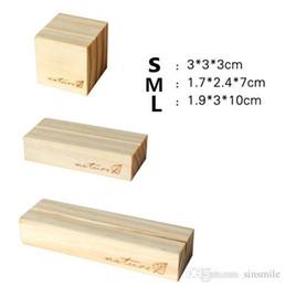 Freies Verschiffen Metall Worte Holz Memo Clips Foto Halter Schellen Visitenkarte Halter Schreibtisch Zubehör Office & School Supplies