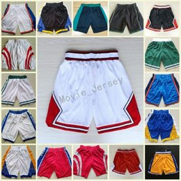 Wholesale gold pants for men - Quick Dry Running Shorts For Men Basketball 2018 New Season Shorts Irving,Antetokounmpo,Harden,Westbrook,Embiid Basketball Pants Stitched