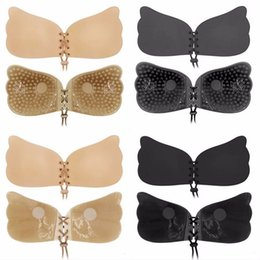ca0db8cc72 Bonjean Women Invisible Bra Soutien Gorge Bralette Strapless Push Up Bra  Drawstring Self Adhesive 4 Styles 2018 New Fashion