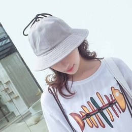 9edc2e15ed2 Spring and summer lady fisherman hat casual student basin cap outdoor  cotton girl beach hat sun free shipping sale