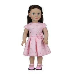 Wholesale 24 Inch Figure - cute baby reborn vinyl 18 inch 45cm baby girl craft real cloth clothes American dream baby dolls supplier