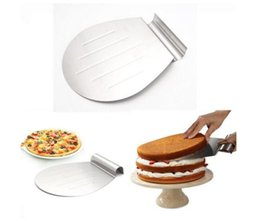Wholesale Pizza Plates - Stainless Steel Transfer Tray Moving Plate Cake Lifter Shovel Pastry Baking Tool Pizza Blade Shovel Bakeware Pastry Scraper 30pcs