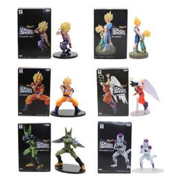brinquedos para 13 anos meninos Desconto 11-21cm Dragon Ball Z Vegeta troncos Goku Gohan celular Frieza Acção PVC Figuras mostra dramática Modelo boneca brinquedo Figuras