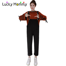 High Quality Maternity Jumpsuit Jumpsuits Overalls Jeans for Pregnant Women Fashion Black and White Pregnancy Clothes Clothing от