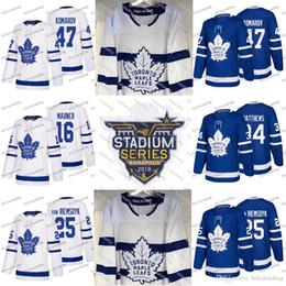 68afe1c158a 16 Mitch Marner 2018 Stadium Series Toronto Maple Leafs Auston Matthews  Tyler Bozak Zach Hyman Nazem Kadri Leo Komarov Josh Leivo Jerseys