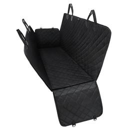 Impermeable Pet Dog Car Cover Cover hamaca para asiento trasero banco perro llevar suministros para viajes al aire libre negro desde fabricantes
