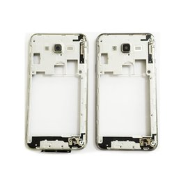 Wholesale galaxy volume button - Original New Middle Bezel Back Housing With Power Volume Button Key For Samsung Galaxy J7 J700 2015 Repair Parts