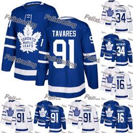 Argentina Ventas al por mayor Toronto Maple Leafs 91 John Tavares 34 Auston Matthews 16 Mitchell Marner Camisetas de hockey Hombres Mujeres Jóvenes Envío gratis cheap jersey wholesales Suministro