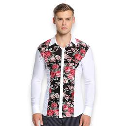 5174a76d6e long sleeves men latin dance shirt ballroom shirt adult dance top male wear