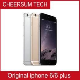 "Wholesale Iphone 5pcs - Wholesale Unlocked Original Apple iPhone 6 iphone 6 Plus Refurbished phone 4.7"" 5.5'' 1GB RAM 16GB 64GB 128GB ROM IOS Cellphone 5pcs freeDHL"