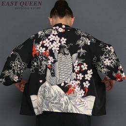 79d4d2fff87b Kimono cardigan men Japanese obi male yukata men s haori Japanese samurai clothing  traditional clothing FF781