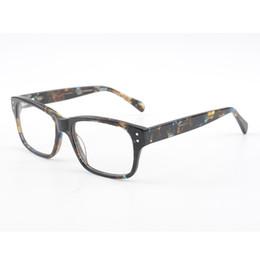 Wholesale handsome glasses - Handsome Reading Glasses Men Retro Luxury Brand Designer Acetate Eyewear Hyperopia Myopia Presbyopia Fashion Frame