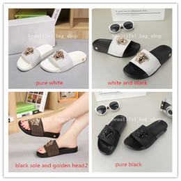 Wholesale best adhesives - 2018 NEW Europe Brand top grade Fashion sandals causal lovers' summer huaraches slippers flip flops slipper BEST QUALITY