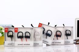 2018 серебряные наушники iphone ГОРЯЧИЕ Универсальные наушники Bluetooth Наушники Стерео Басс-гарнитура Спортивные наушники Ear Hook Earbuds G5 мощность бренда 3 Беспроводная связь с микрофоном