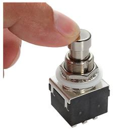 Pédale de pédalier en Ligne-2 PCS de (Noir 3PDT 9-Pin Guitare Effets Stomp Switch Pedal Box Pied Métal True Bypass)
