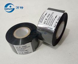 válvulas solenóides pneumáticas Desconto Frete grátis por china post 30mm * 100 m Alta qualtiy cor Preta fita para impressão de data em codificador de Data para EXP, MFG, hot stamping