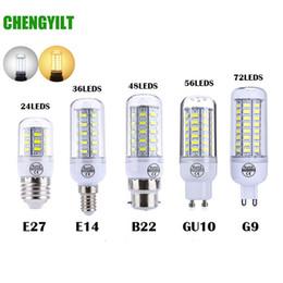 smd führte e27 48 Rabatt E27 E14 SMD 5730 LED Lampe 7W 12W 15W 18W 220V 110V Mais Licht LED Birnen Kronleuchter 36 48 56 69 72 LEDs