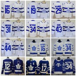 Wholesale Toronto 19 - 2018 Stadium Series 31 Frederik Andersen Jersey 43 Nazem Kadri 44 Morgan Rielly 19 Joffrey Lupul Hockey Toronto Maple Leafs White Blue Man